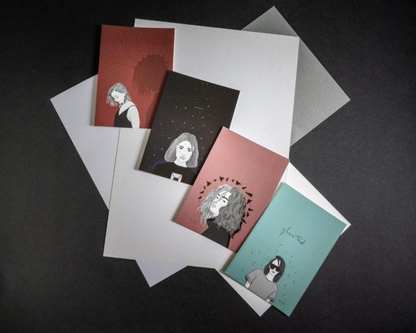 Postkartenset